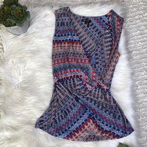 Nic + Zoe knit wrap tank